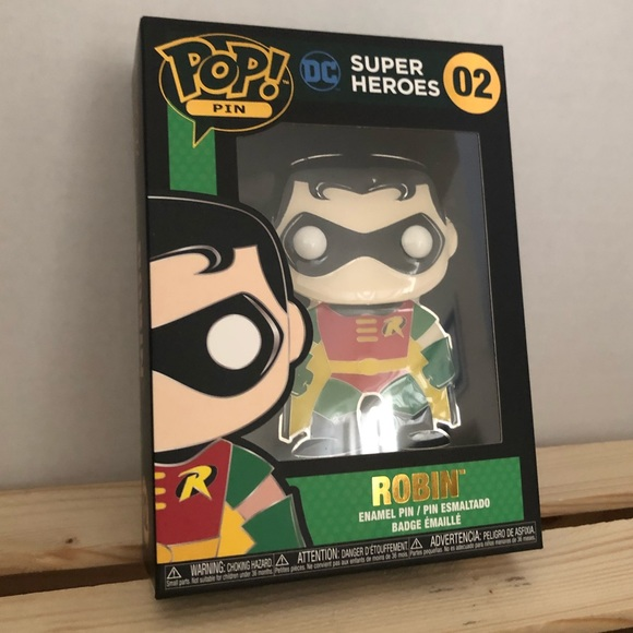 Funko Pop Pin DC Super Heroes Robin